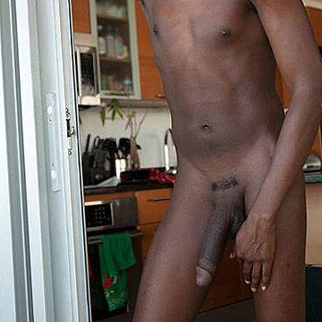 Black 11 Inch Cock | Daily Dudes @ Dude Dump