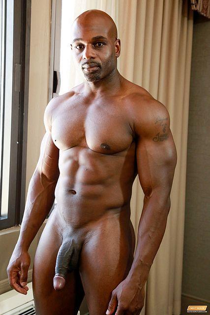 Bound muscle big men black