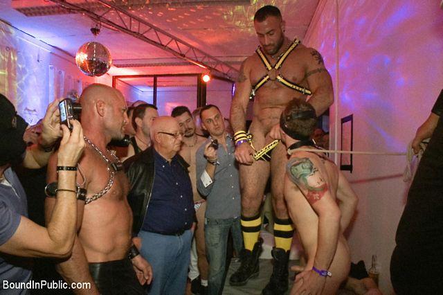 Bondage Berlin boys in orgy | Daily Dudes @ Dude Dump