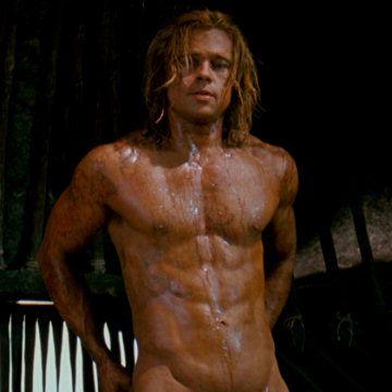 Brad Pitt now officially a GILF   Daily Dudes @ Dude Dump