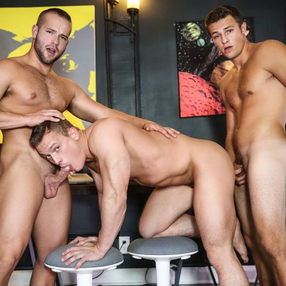 Charlie, Luke and Tommy fuck | Daily Dudes @ Dude Dump