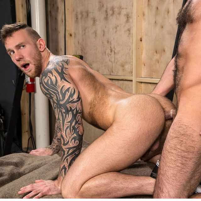 Chris Harder and Damien Michaels | Daily Dudes @ Dude Dump