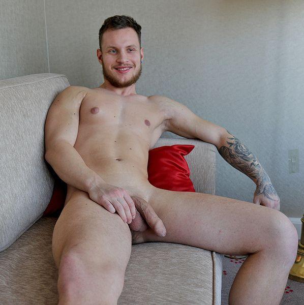 Christiano Szucs jerks his uncut cock | Daily Dudes @ Dude Dump