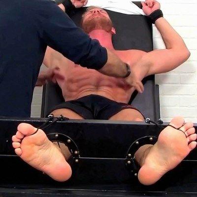 Christopher Daniels Tickle Tortured | Daily Dudes @ Dude Dump