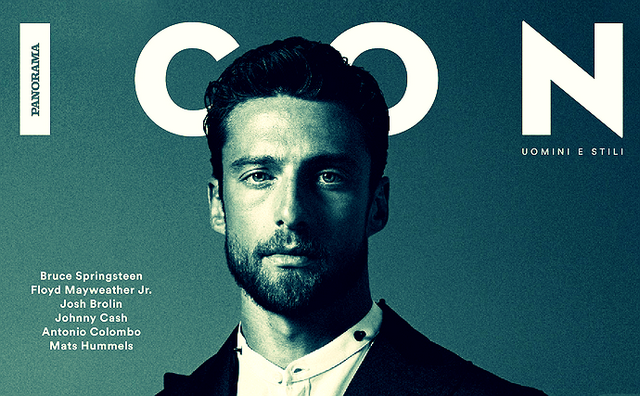 Claudio Marchisio super sexy for ICON | Daily Dudes @ Dude Dump