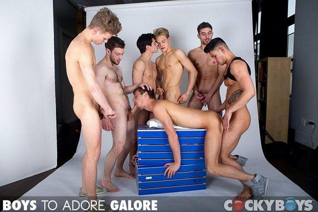 Cockyboys huge orgy | Daily Dudes @ Dude Dump