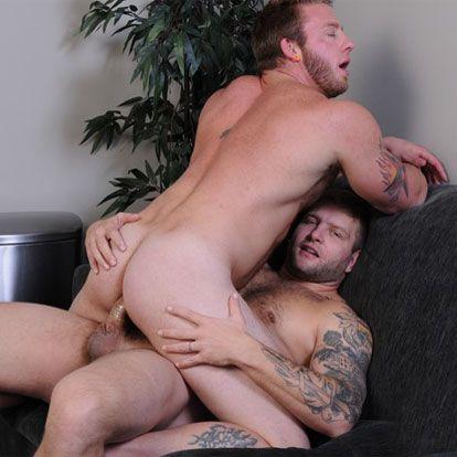 Colby Jansen pounds Aaron Bruiser | Daily Dudes @ Dude Dump