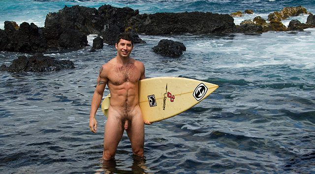 Cute and hairy surfer Alec is definitely a grower   Daily Dudes @ Dude Dump