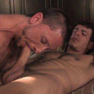 Dakota swallows Jesse's dick | Daily Dudes @ Dude Dump