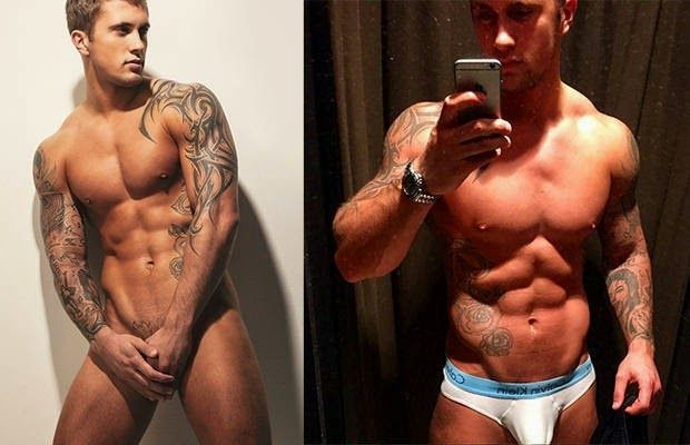 Dan Osborne, now bigger and with boner!   Daily Dudes @ Dude Dump