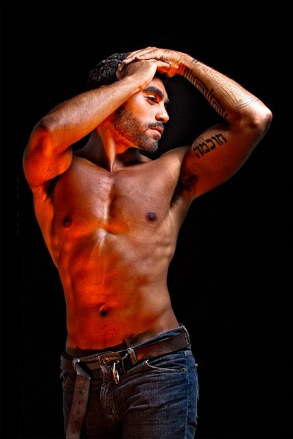 Dark And Muscled Gabriel Neri   Daily Dudes @ Dude Dump