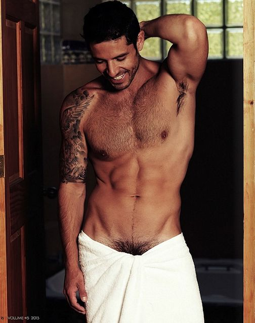 Diego Arnary And That Hairy Chest | Daily Dudes @ Dude Dump