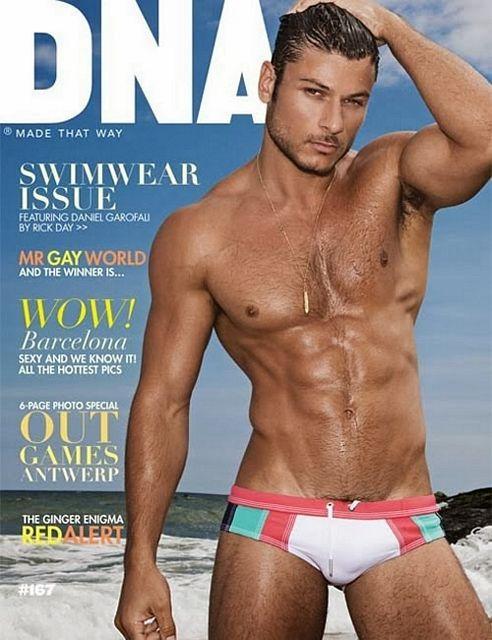 DNA cover boy: Daniel Garofali | Daily Dudes @ Dude Dump