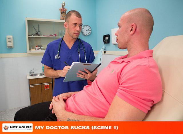 Dr. Jones treats Angelo  with a huge dick pill | Daily Dudes @ Dude Dump
