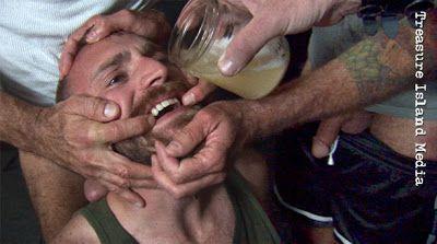 DRUNK ON CUM PART 6-HARD TRAINING | Daily Dudes @ Dude Dump