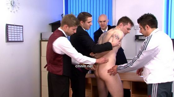 English Jock Gets Forcefully Finger Fucked | Daily Dudes @ Dude Dump