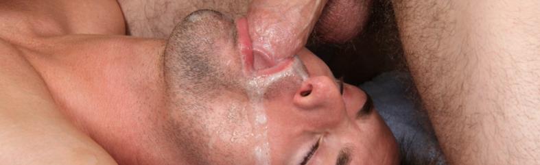 Feeding my straight mate my cum load in a shoot | Daily Dudes @ Dude Dump