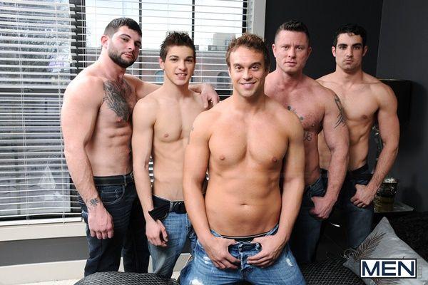 Five Hot Men's Jizzorgy | Daily Dudes @ Dude Dump