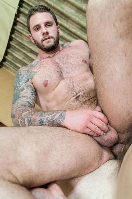 Fucking hot hairy & bearded str8 hunk Rocke! | Daily Dudes @ Dude Dump
