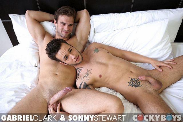 Gabriel Clark fucks Sonny Stewart   Daily Dudes @ Dude Dump