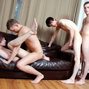 Gay Chavs Get Some Hot Emo Twink Ass!   Daily Dudes @ Dude Dump