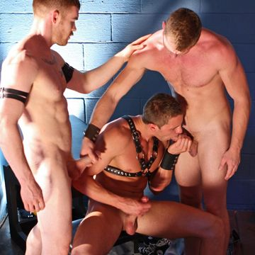 Gay Dungeon Muscle Orgy | Daily Dudes @ Dude Dump