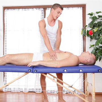 Gay massage with Aslan Brutti and Martin Love | Daily Dudes @ Dude Dump