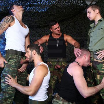 Gay Military Orgy | Daily Dudes @ Dude Dump
