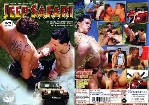 Gay outdoor porn in Jeep Safari | Daily Dudes @ Dude Dump