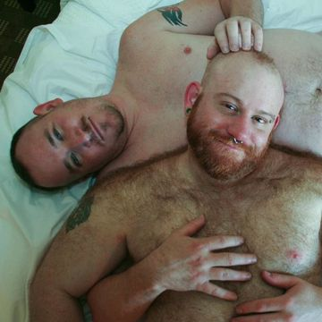 Hairy Bear Sex With Ashby Red And Maximus O'Conne | Daily Dudes @ Dude Dump
