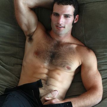 Hairy Frat Hunk Creams His Furry Ripped Six Pack   Daily Dudes @ Dude Dump