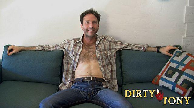 Hairy guy Jack Archer jerks off | Daily Dudes @ Dude Dump