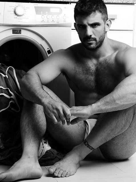 Hairy Hunk Joe Bonomo   Nude Male Models   Daily Dudes @ Dude Dump