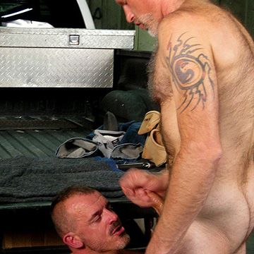 Hairy Men Fuck in a Truck   Daily Dudes @ Dude Dump