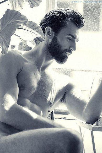 Handsome Bearded Man Jacek Jelonek   Daily Dudes @ Dude Dump