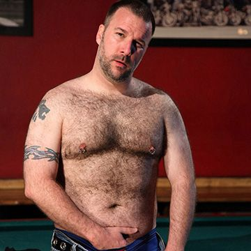 Handsome Hairy Daddy | Daily Dudes @ Dude Dump
