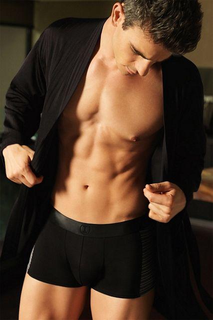Handsome Underwear Hunk Joshua Kloss | Daily Dudes @ Dude Dump