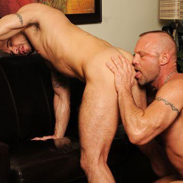 Hard gay daddy bareback fucking | Daily Dudes @ Dude Dump