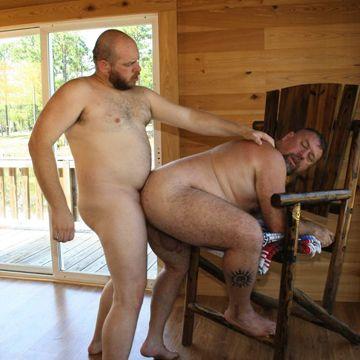 Hardcore Hairy Bear Action | Daily Dudes @ Dude Dump