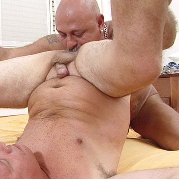 Horny old man spreads his legs   Daily Dudes @ Dude Dump