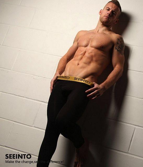 Hot and sexy UK jock Adam Cousins in underwear | Daily Dudes @ Dude Dump
