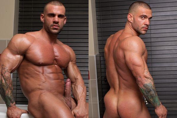 Hot Bodybuilder Mike Tucker Jerking Off | Daily Dudes @ Dude Dump