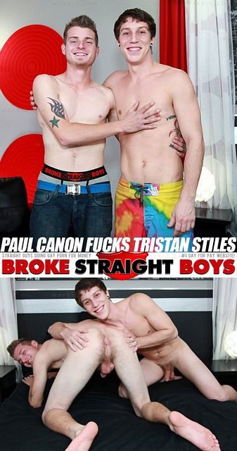 Hot Dude Paul Canon Fucks Tristan Stiles | Hot Nak | Daily Dudes @ Dude Dump