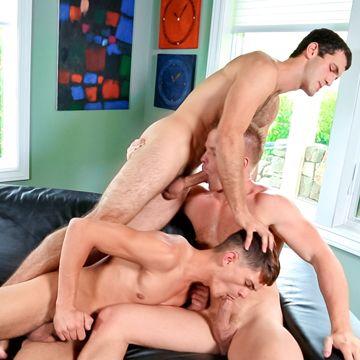 Hot Jock Threesome Fucking With Liam Magnuson | Daily Dudes @ Dude Dump