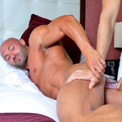 Hot Muscled Max Chevalier pounds Felix Brazeau | Daily Dudes @ Dude Dump