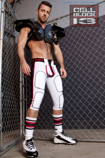 Hot Naked Hunk Brayden Forrester For CellBlock 13 | Daily Dudes @ Dude Dump