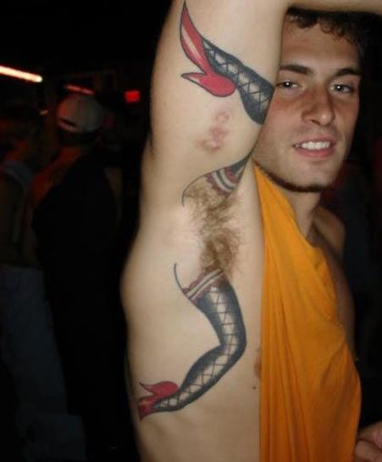 Hot Tattooed Guys With Hairy Armpits | Daily Dudes @ Dude Dump