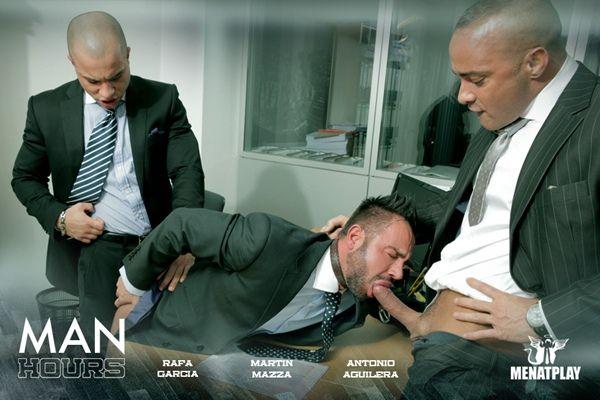 Hot threeway of Rafa, Antonio and Martin | Daily Dudes @ Dude Dump