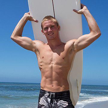 Hung Blond Surfer Boy   Daily Dudes @ Dude Dump