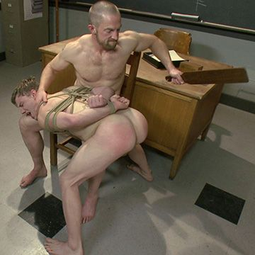 Hung Jock Force Fucked in Detention | Daily Dudes @ Dude Dump